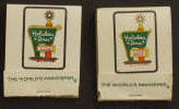 Holiday Inn Matchbooks - Click for more photos