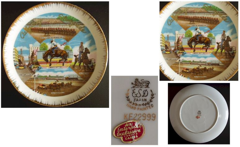 Calgary St&ede - Click for more photos  sc 1 st  Antique Home & Collector Plates/Figurines - Plates Page 2