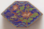 Enamel and Metal Trinket Box - Click for more photos