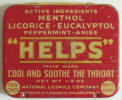 Helps Sore Throat Pellets Tin - Click for more photos