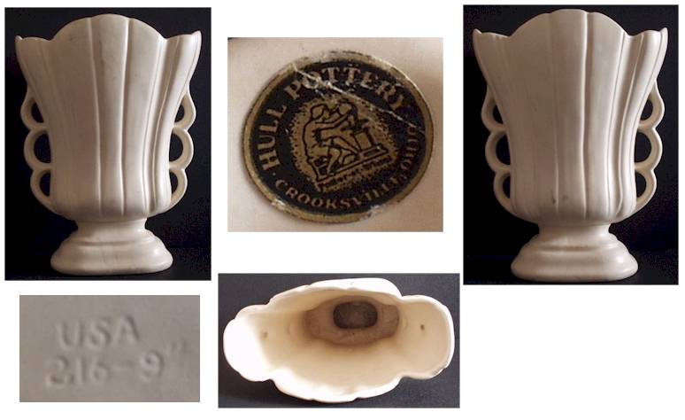 Hull Usa Vase Vase And Cellar Image Avorcor