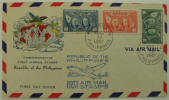 Commemorative 1st Air Mail Stamps - Republic of the Philippines - Click for more photos