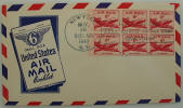 Small Size Air Mail Booklet FDC - Click to go to Air Mail Cachets