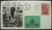 Pope Paul VI Departs New York - Click for more photos