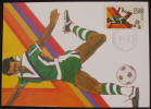 1984 Olympic Games Postcard - Soccer Player - Click for more photos
